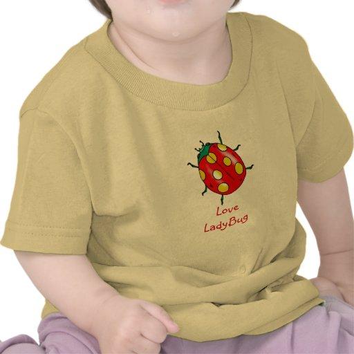 Camiseta de la mariquita