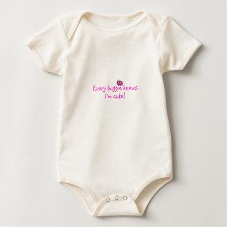 Camiseta de la mariquita del bebé