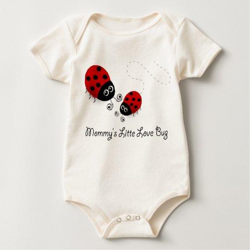 Camiseta de la mariquita del insecto del amor de