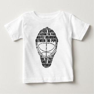 Camiseta de la máscara del portero del hockey playeras