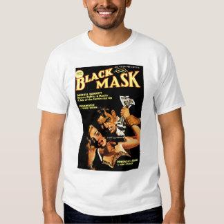 """Camiseta de la """"máscara negra"""" polera"""