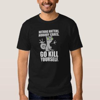 Camiseta de la matanza usted mismo (2 echados a un playera