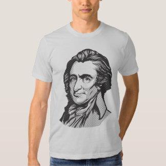 Camiseta de la matriz de punto de Thomas Paine Remera