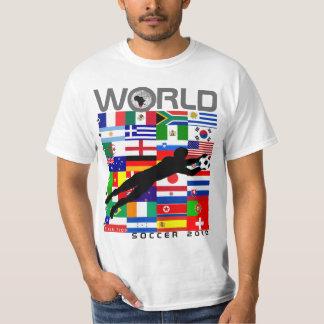 Camiseta de la meta de la bandera del equipo del polera