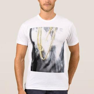 Camiseta de la mezcla del Polivinílico-Algodón de