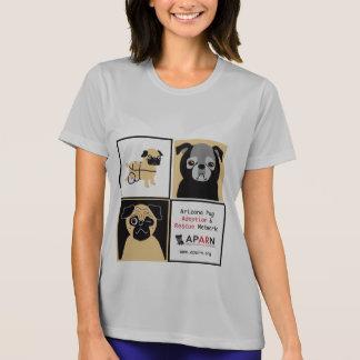 Camiseta de la Micro-Fibra de las señoras de los b Remera