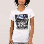 Camiseta de la Micro-Fibra de las señoras del equi