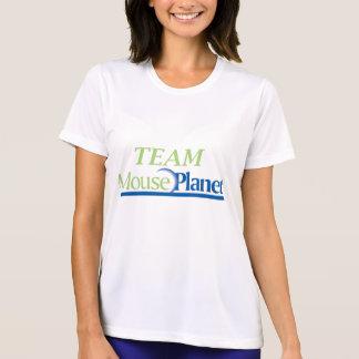 Camiseta de la microfibra de las mujeres de polera
