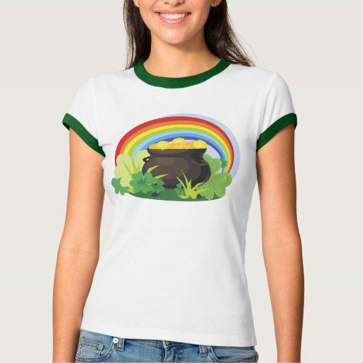 Camiseta de la mina de oro playeras
