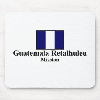 Camiseta de la misión de Guatemala Retalhuleu LDS Tapetes De Raton