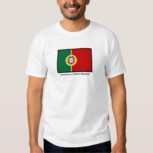Camiseta de la misión de Portugal Oporto LDS Playeras