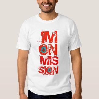 Camiseta de la misión del Sangre-Agua Remera