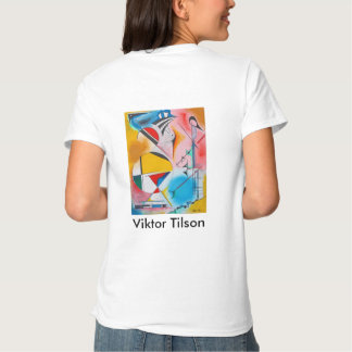 Camiseta de la moda de Victor Tilson de la Playera