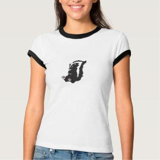 Camiseta de la mofeta poleras