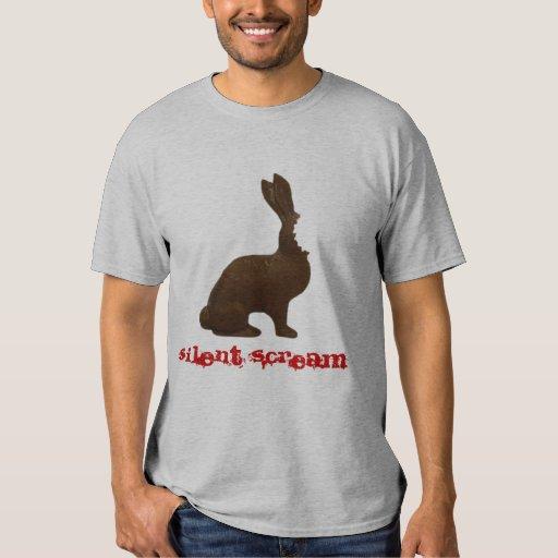 Camiseta de la mordedura del conejito del poleras
