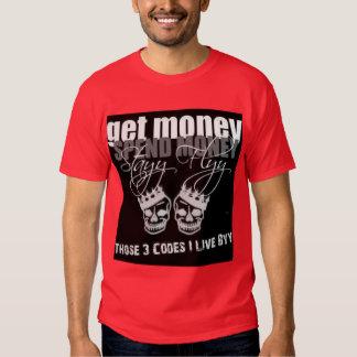 Camiseta de la mosca de la estancia playera