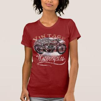 Camiseta de la motocicleta del vintage
