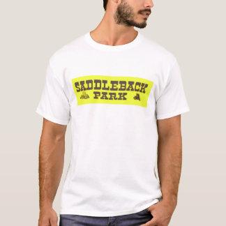 Camiseta de la motocicleta del vintage del parque