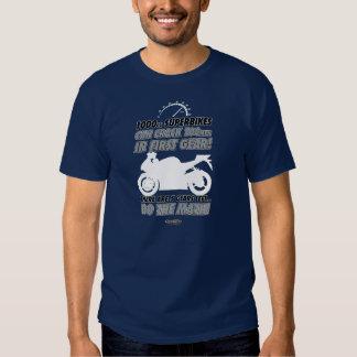 ¡Camiseta de la motocicleta - haga la matemáticas! Remeras
