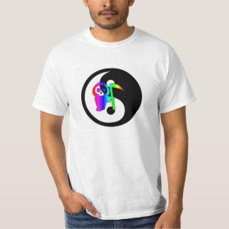 Camiseta de la muerte de Yin Yang Remeras