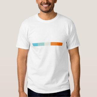Camiseta de la muestra del color poleras