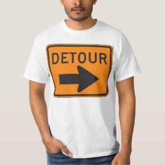¡Camiseta de la muestra del DESVÍO! Remera