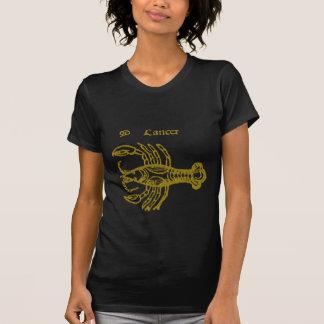 Camiseta de la muestra del zodiaco del cáncer