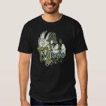 Camiseta de la muestra del zodiaco del horóscopo playeras