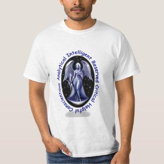 Camiseta de la muestra del zodiaco del virgo camisas