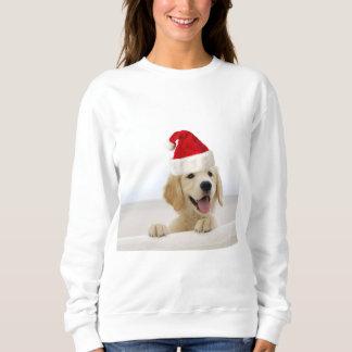 Camiseta de la mujer del perrito del golden poleras