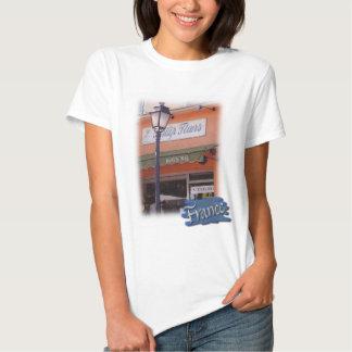 Camiseta de la muñeca de Flowershop del francés Poleras