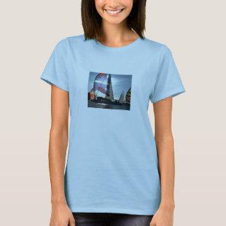 Camiseta de la muñeca de las señoras del barco de