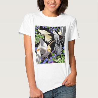 Camiseta de la muñeca de los Cockatiels y de las Remeras