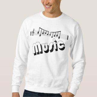 Camiseta de la música