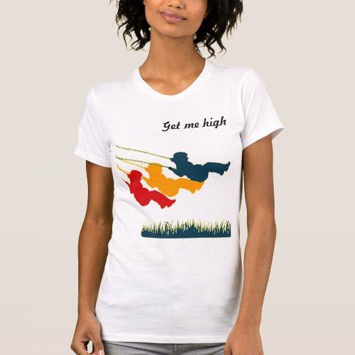 camiseta de la música de balanceo del parque del