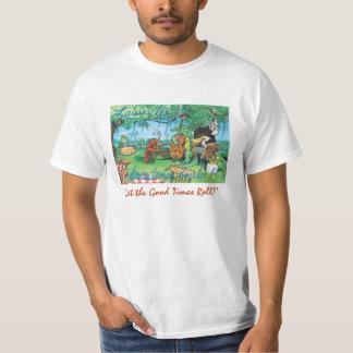 Camiseta de la música de Cajun Playera
