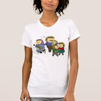 Camiseta de la música de la familia de Yozhin