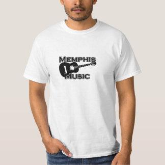 Camiseta de la música de Memphis