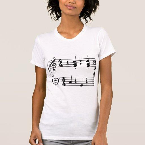 Camiseta de la música de OOM-PAH o de UMPAPA