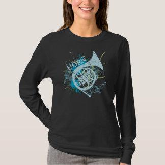 Camiseta de la música del cuerno