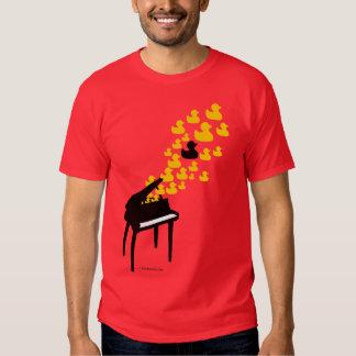 Camiseta de la música del pato remeras