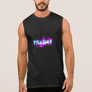 Camiseta de la música del trance