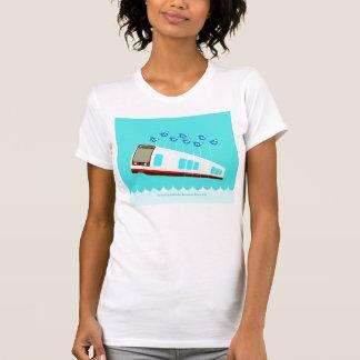 Camiseta de la N Judah Failwhale de las mujeres Polera