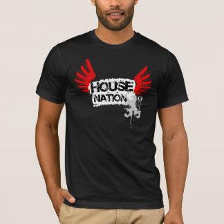 Camiseta de la nación de la casa
