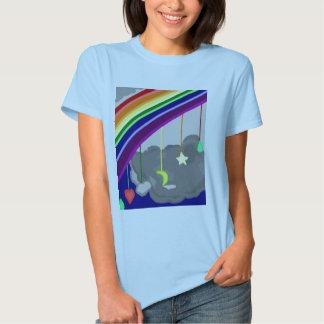 Camiseta de la nana del arco iris playera