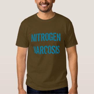 """""""Camiseta de la narcosis del nitrógeno"""" Poleras"""