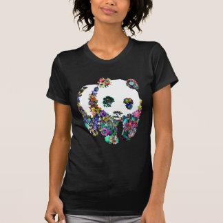 camiseta de la naturaleza de la panda playera