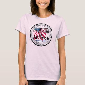 Camiseta de la negociación colectiva