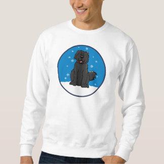 Camiseta de la nieve S de Newfie Pullover Sudadera