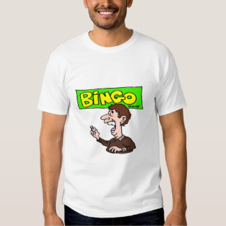 Camiseta de la NOCHE del BINGO Playeras